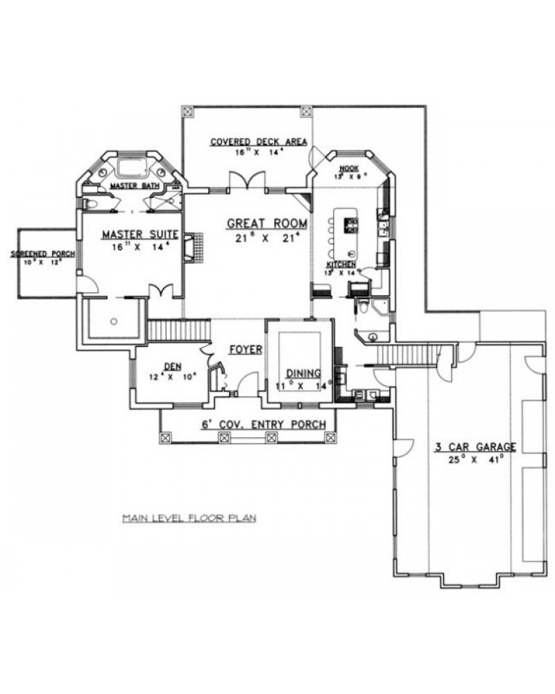 House Plan Ghd 2120 Contemporary Icf