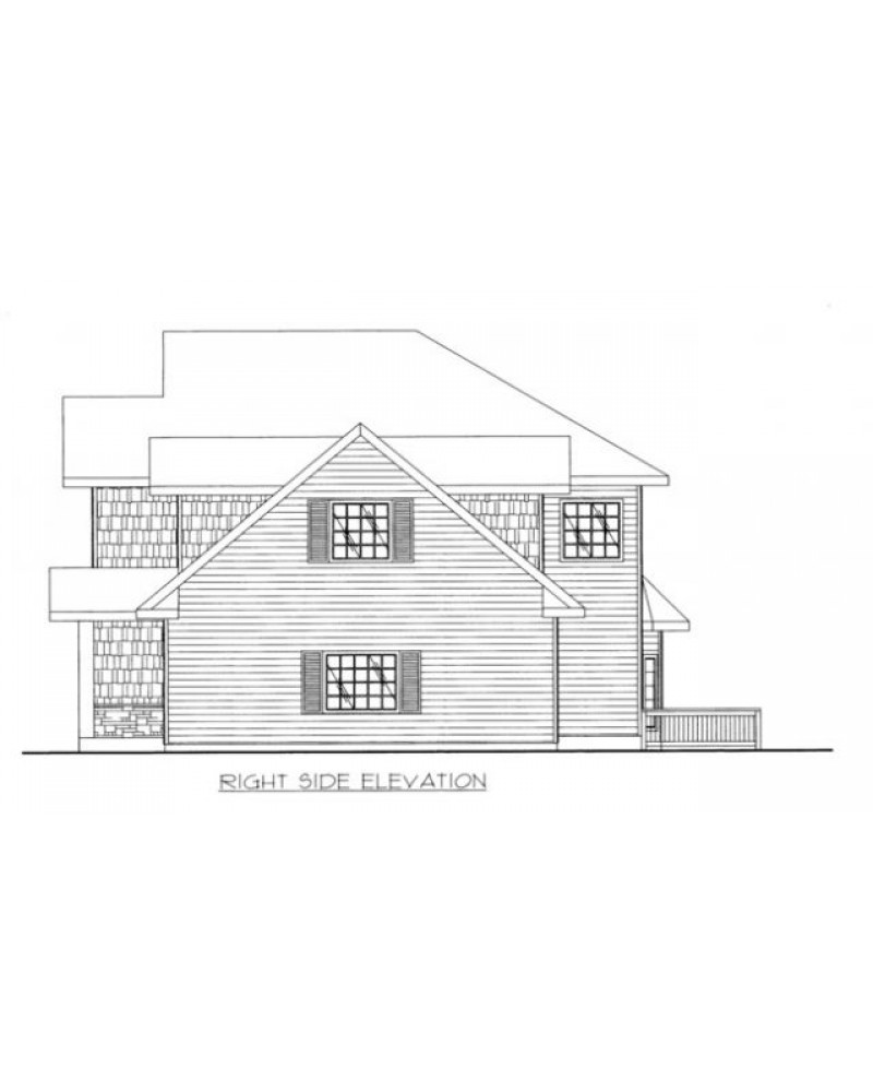 House Plan Ghd 2129 Cape Cod New