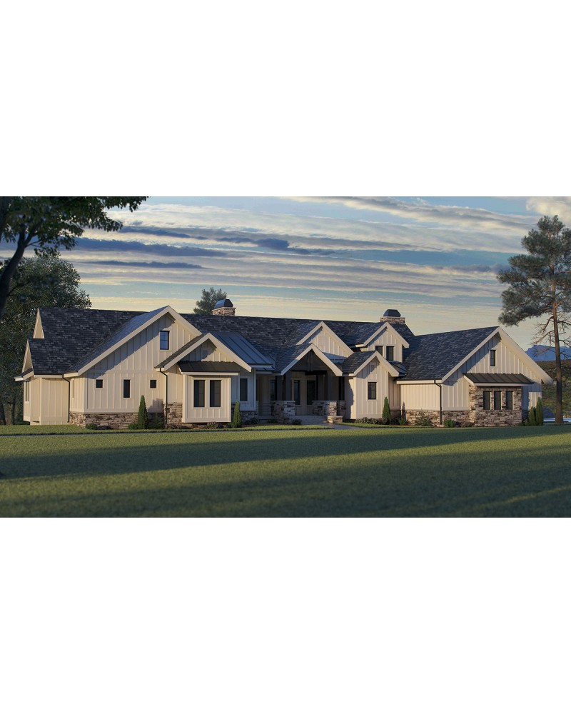 AmazingPlans.com House Plan REN2605 Glen Oaks