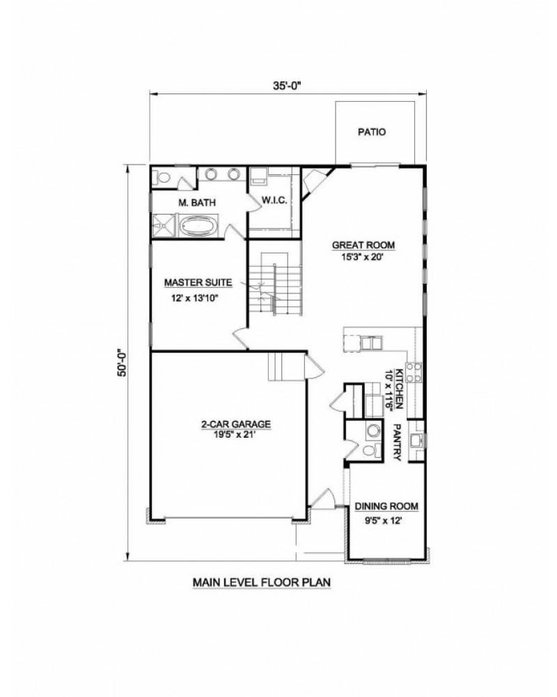 House Plan H 2038 Craftsman