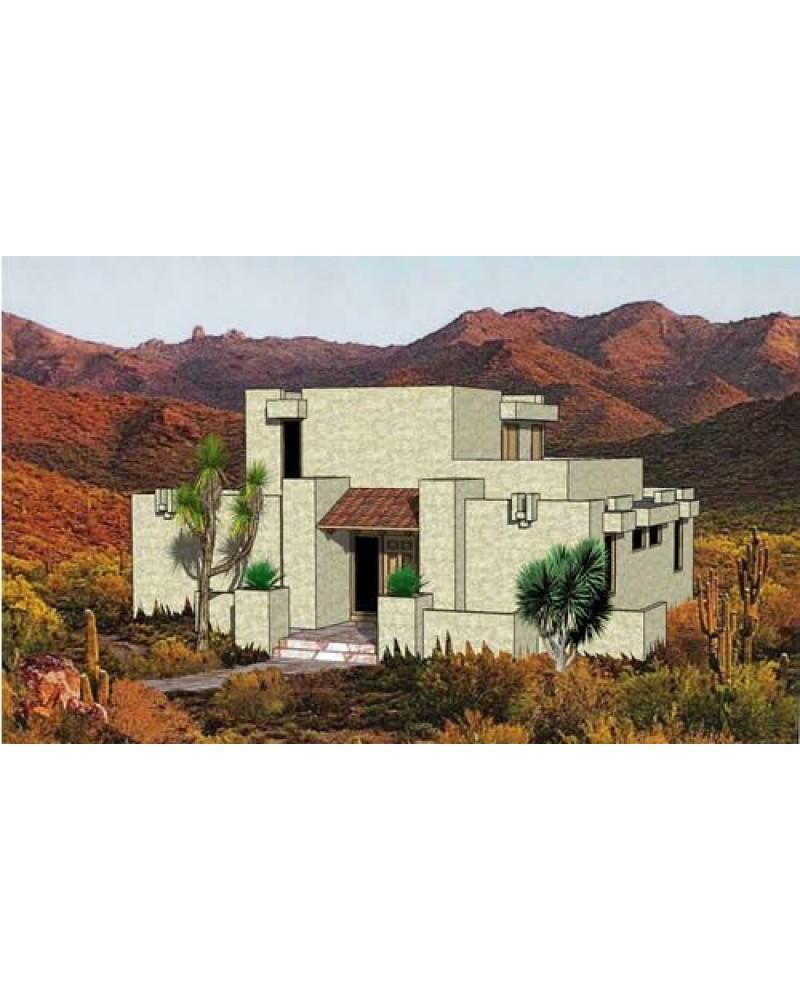 House Plan H 9404 Southwestern