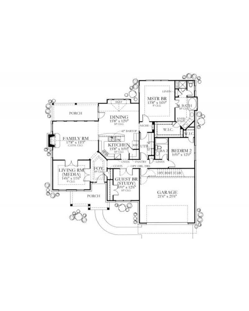 House plan hh 1890 03 country traditional for 1890 house plans