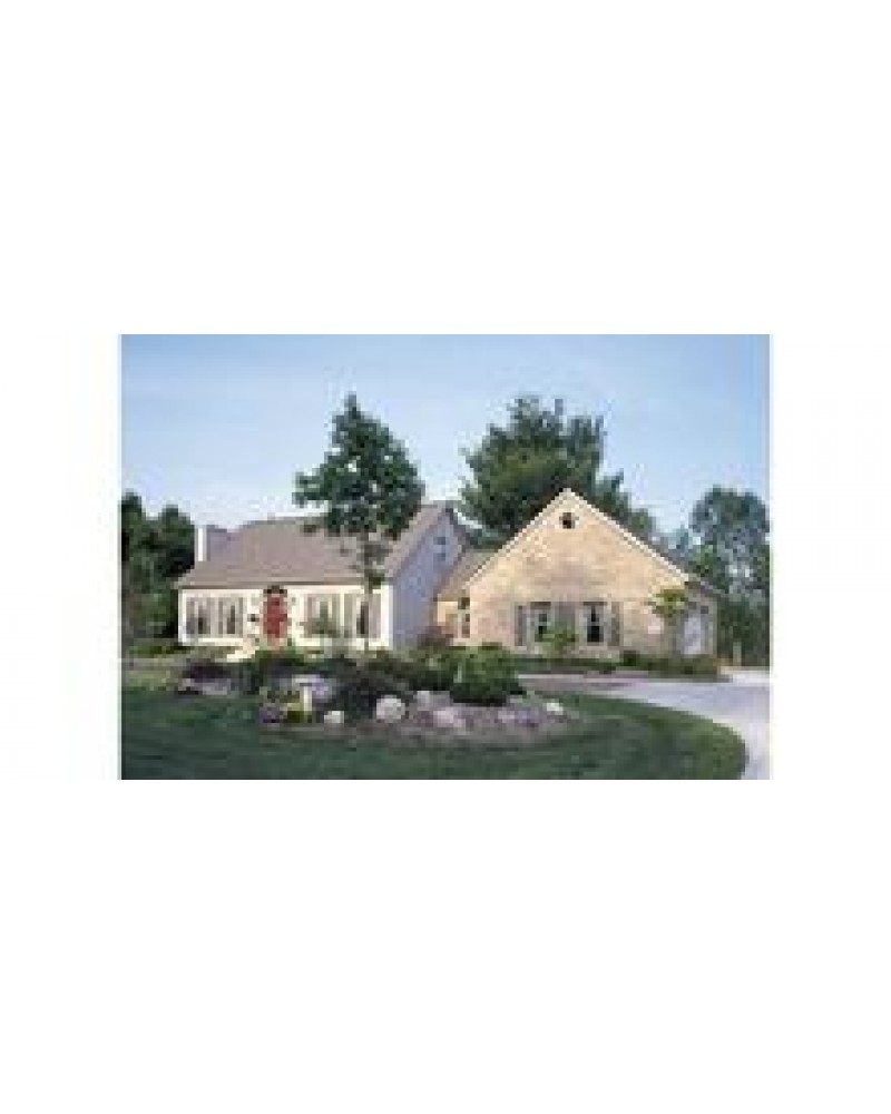 House Plan Hp2571 Cape Cod New