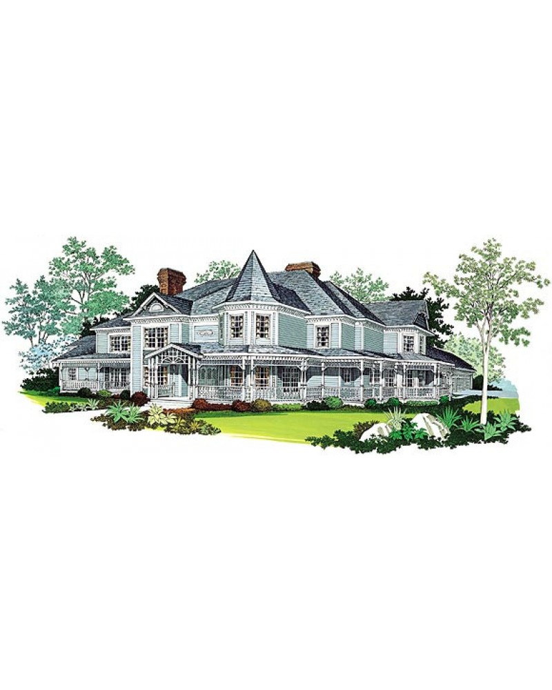 House Plan Hp2953 Luxury Victorian: luxury victorian house plans