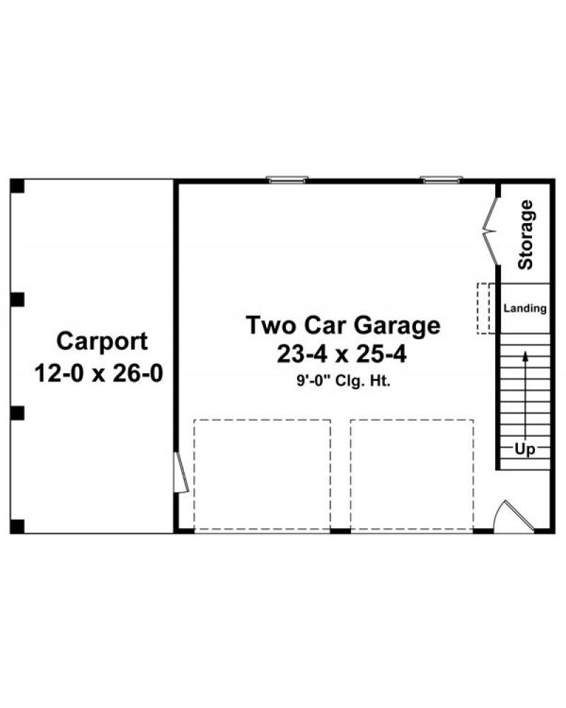 Garage Plan Hpg 0000 0728 Country