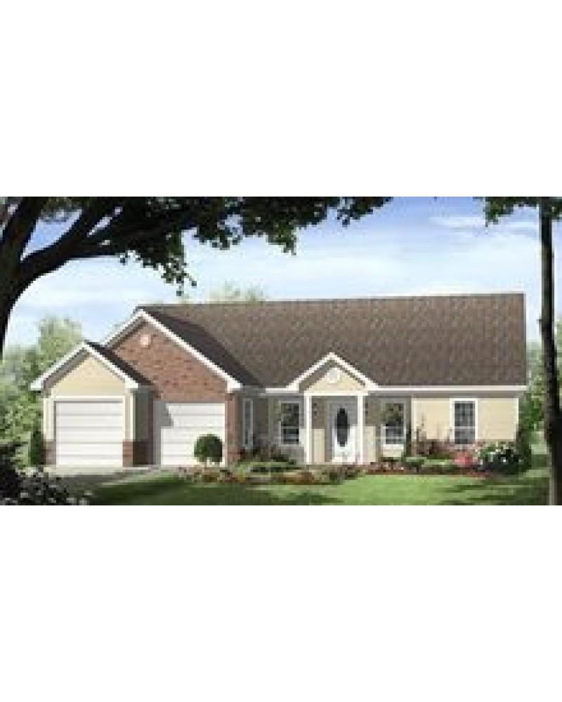 Pinecreek Apartments: AmazingPlans.com House Plan #hpg-1402