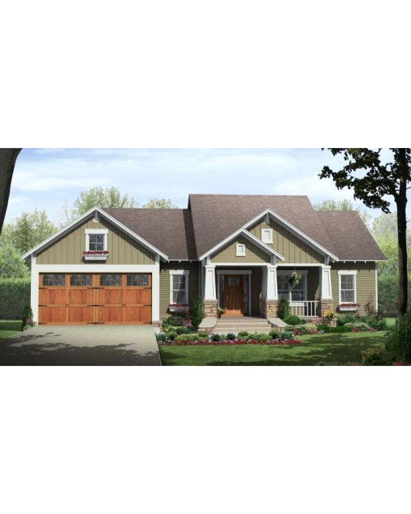 House plan hpg 1604c country for Country craftsman