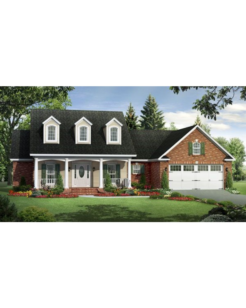 House plan hpg 1700 2 country farmhouse for Amazing plans com