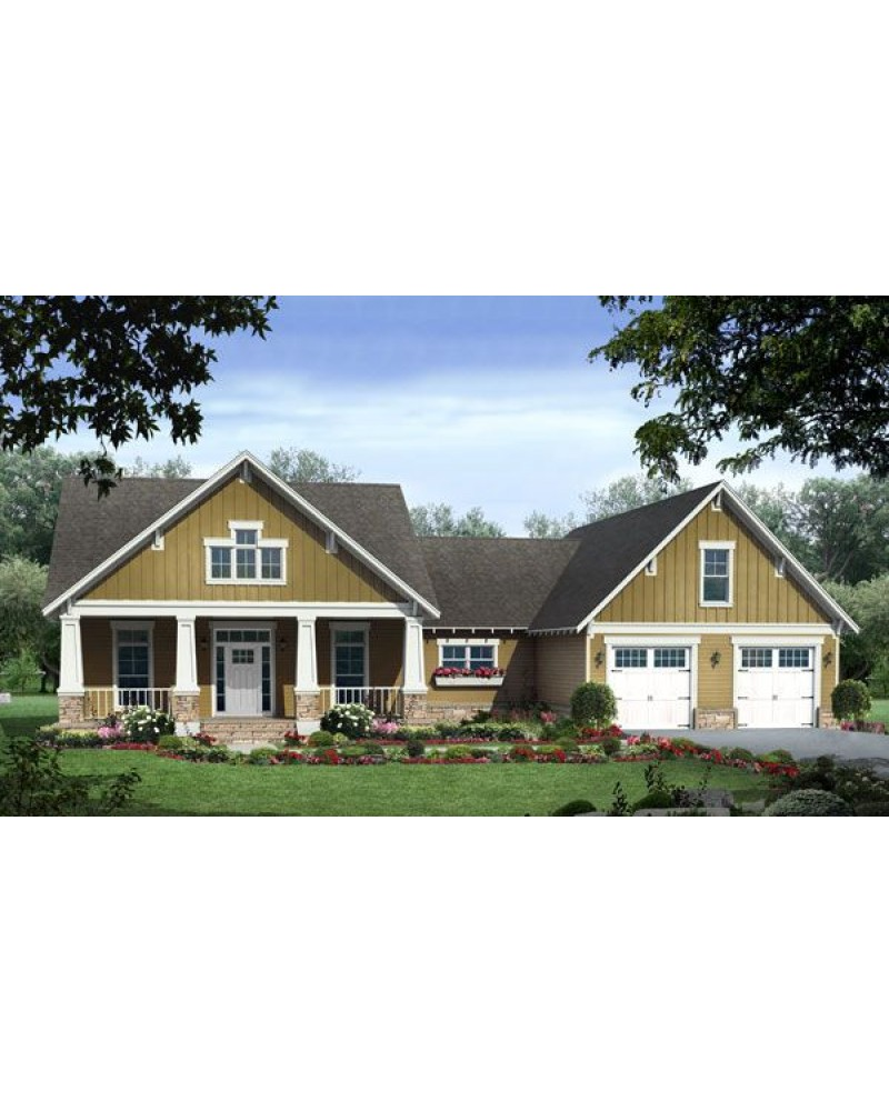 House Plan Hpg 2108 Country Craftsman