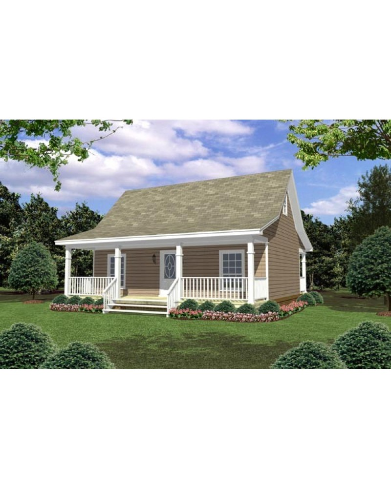 AmazingPlans House Plan HPG8002 Country Southern