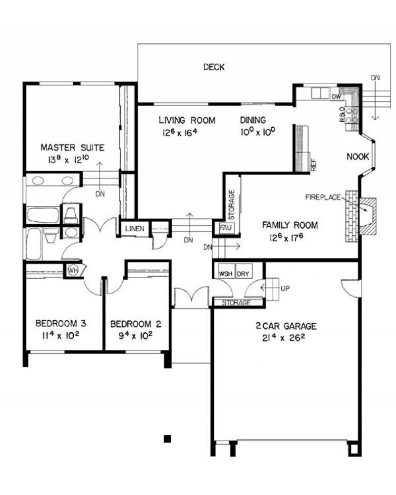 House plan l108 41 contemporary country for Amazing plans com