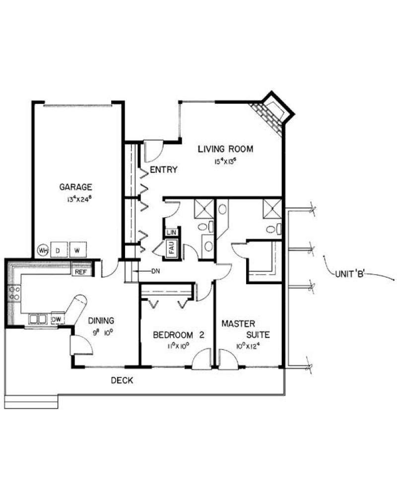 Unique Open Floor Plans Threebedroom Custom 4 Bedroom 6000