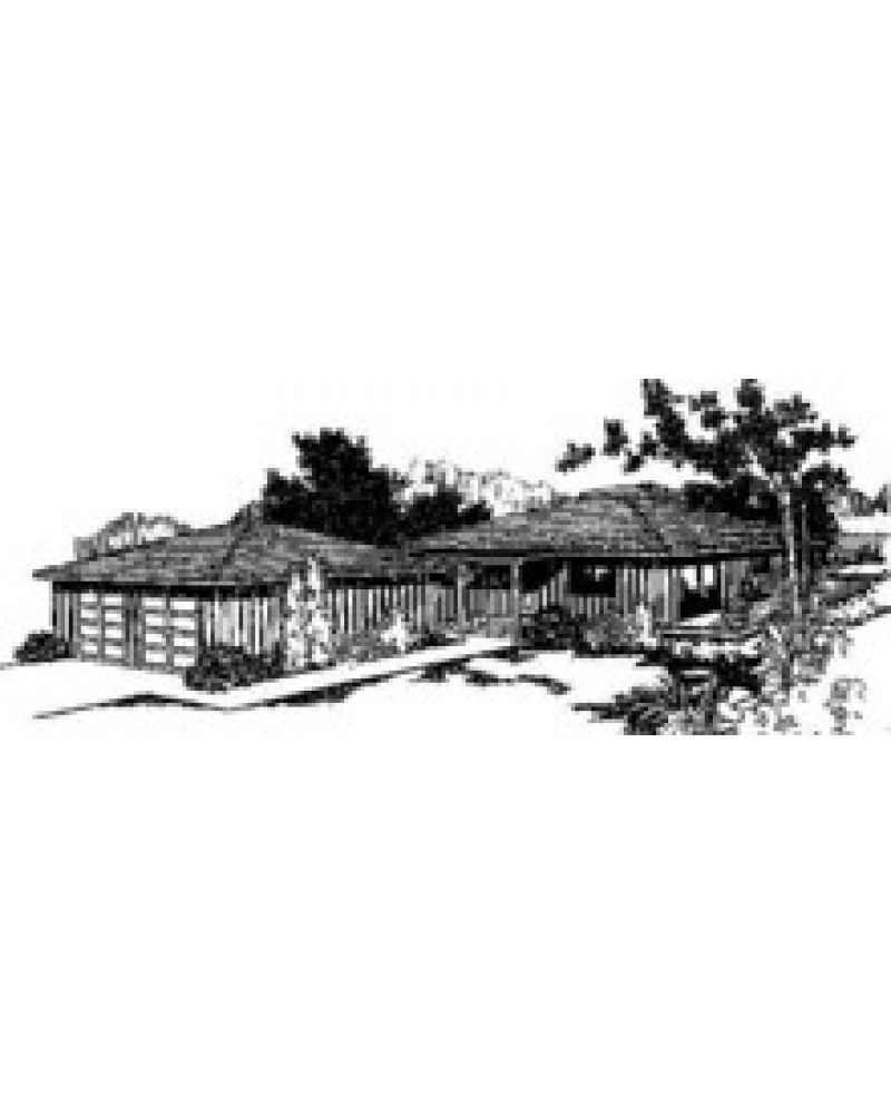 House plan l209 30 country vacation for Amazing plans com