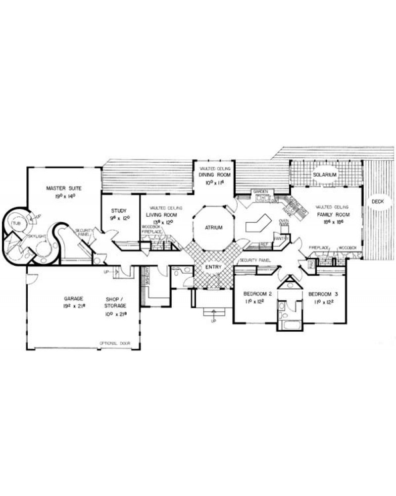 House Plan L226 31 Contemporary