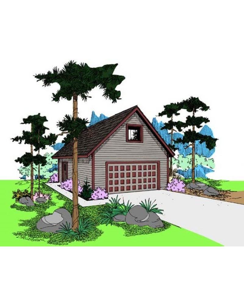 Garage plan l408 19 garage traditional for Amazing plans com