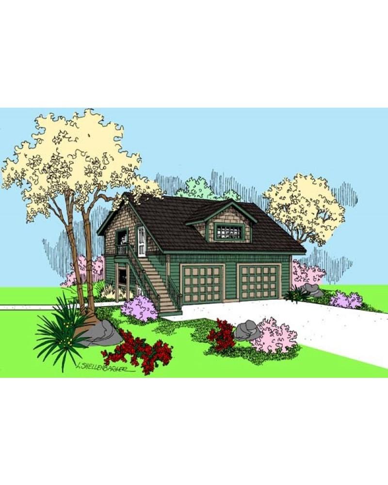 Amazing Garage Designs: AmazingPlans.com Garage Plan #L409-57 Garage & Studio