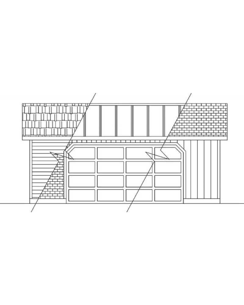 Garage plan lg 2426 garage for 24x26 garage plans