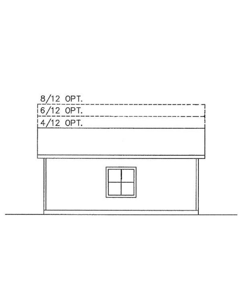 Garage plan lg 2830 garage for 28x30 garage plans