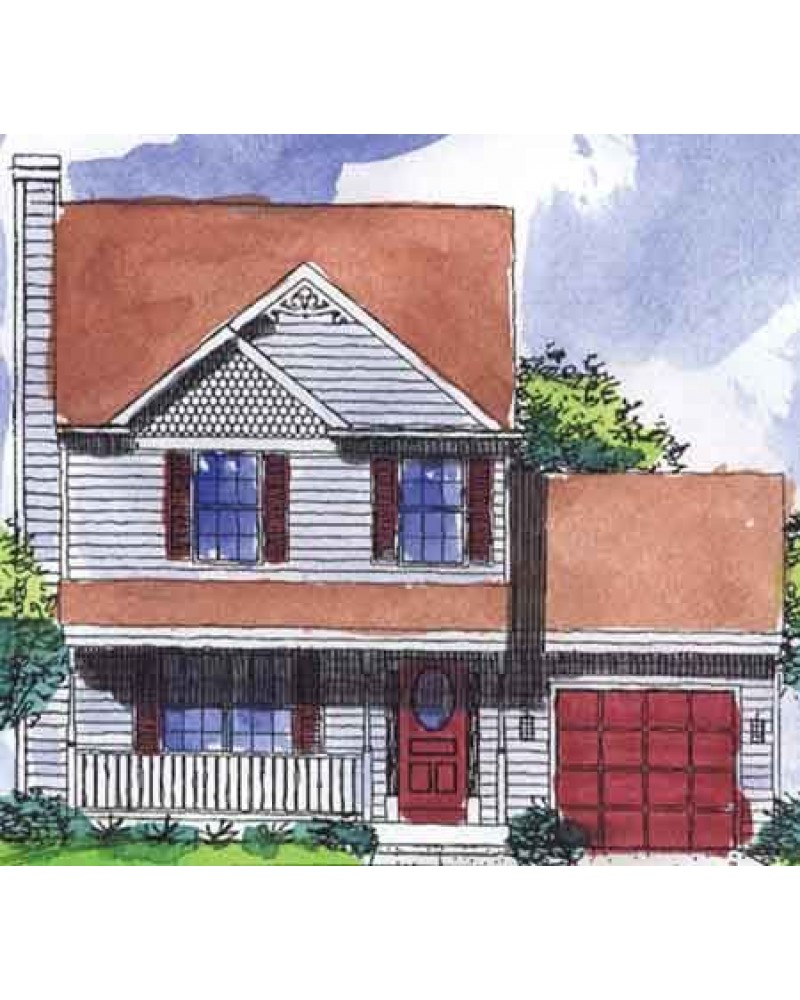 House Plan Ls 96814 Ms Country