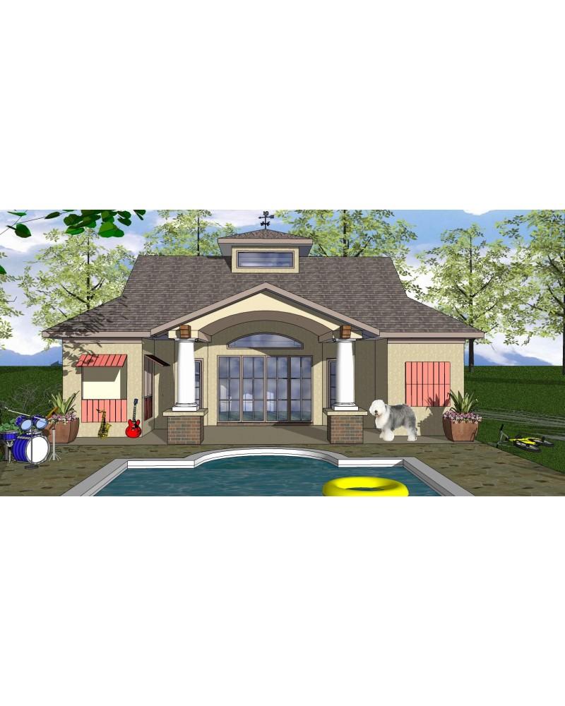House Plan Oes Nc 207a Beach Coastal