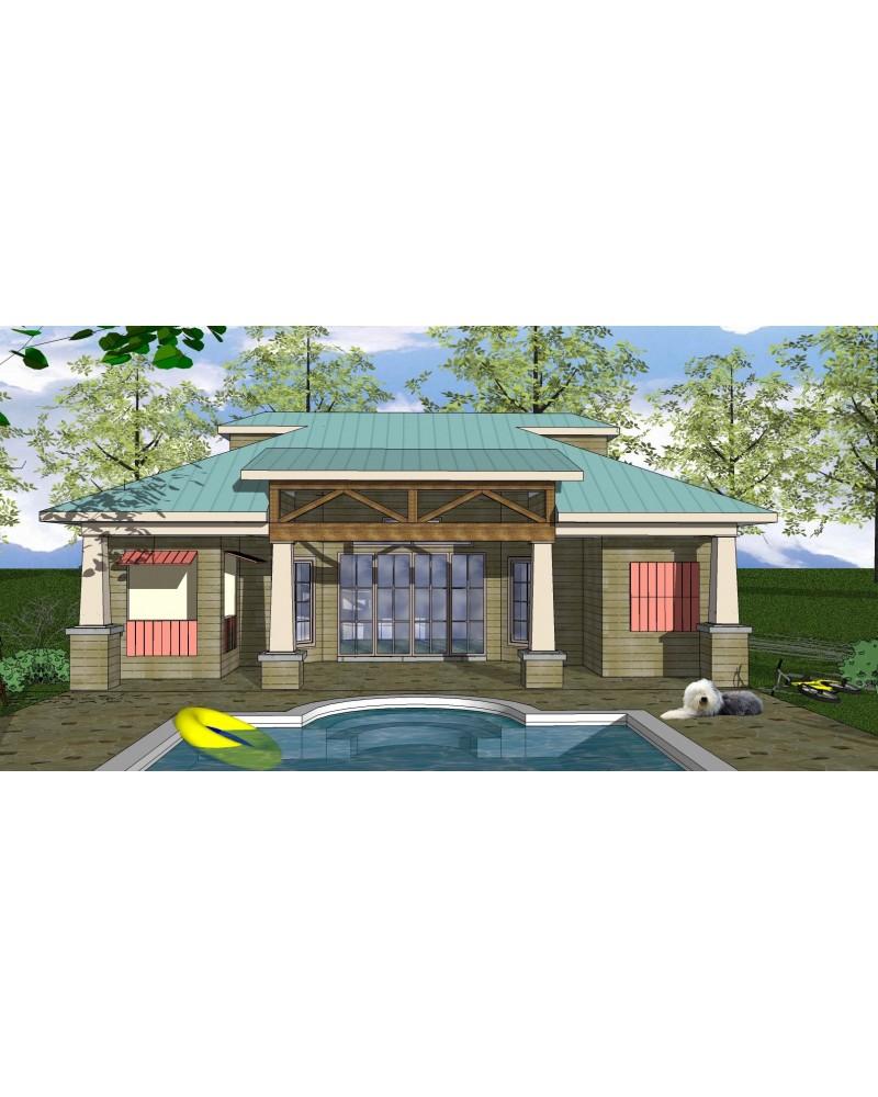 House Plan Oes Nc 207b Beach Coastal