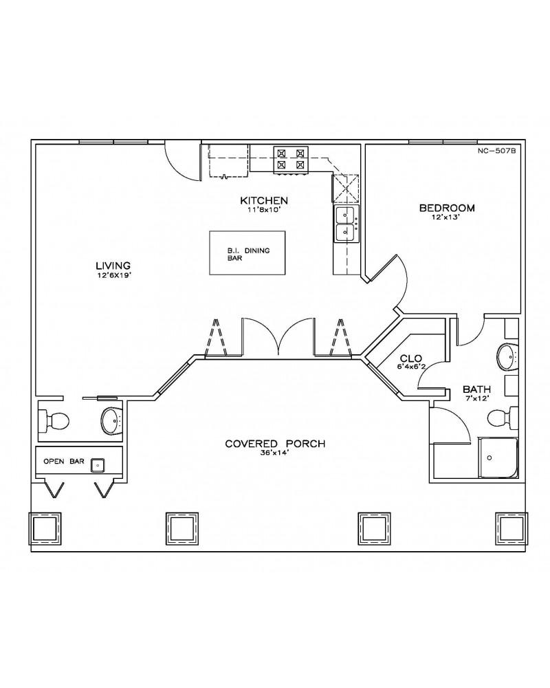 House Plan Oes Nc 507b Beach Coastal