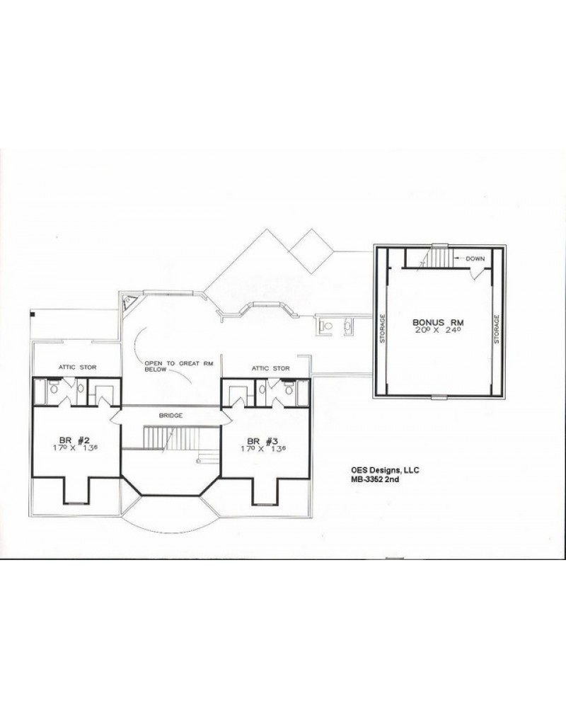 House plan oes mb 3352 colonial for House plans manitoba