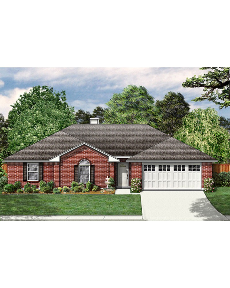 House plan pd1610 44 traditional - Traditional one storied house plans ...
