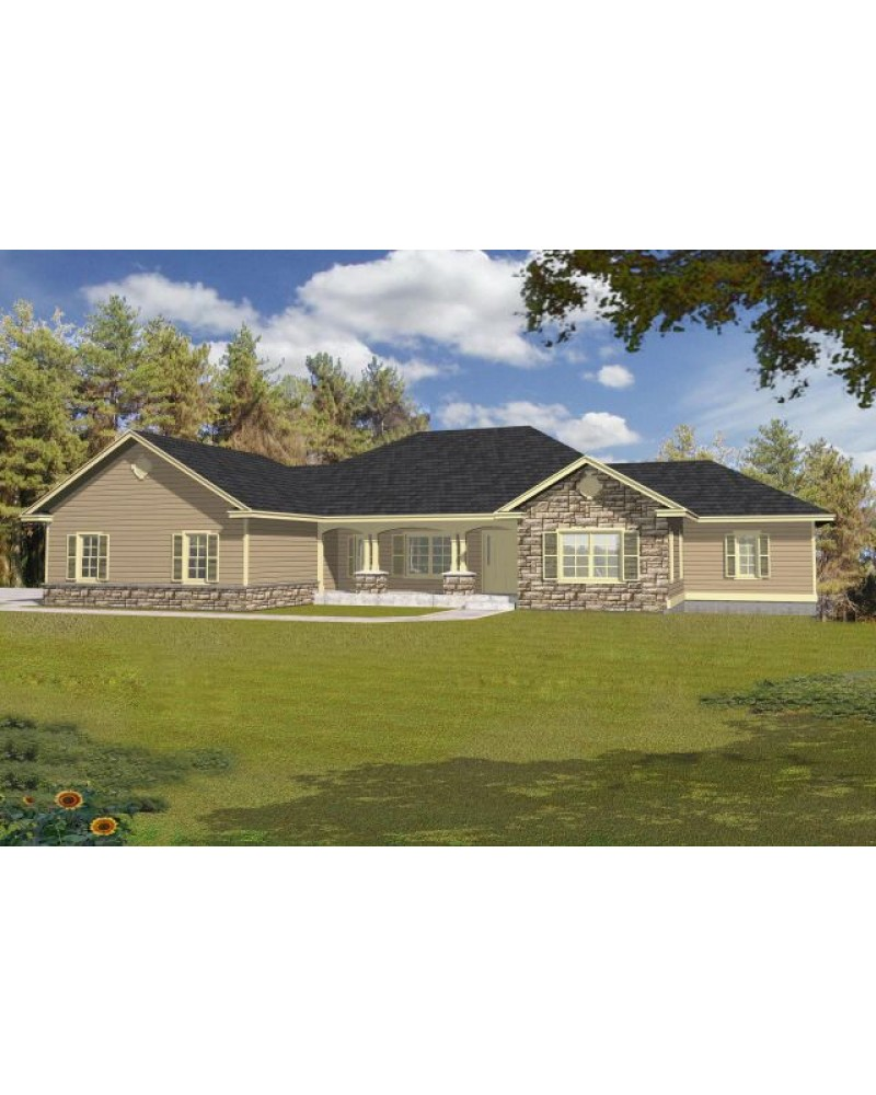 House plan rdi 2113r1 db contemporary for Db ranch