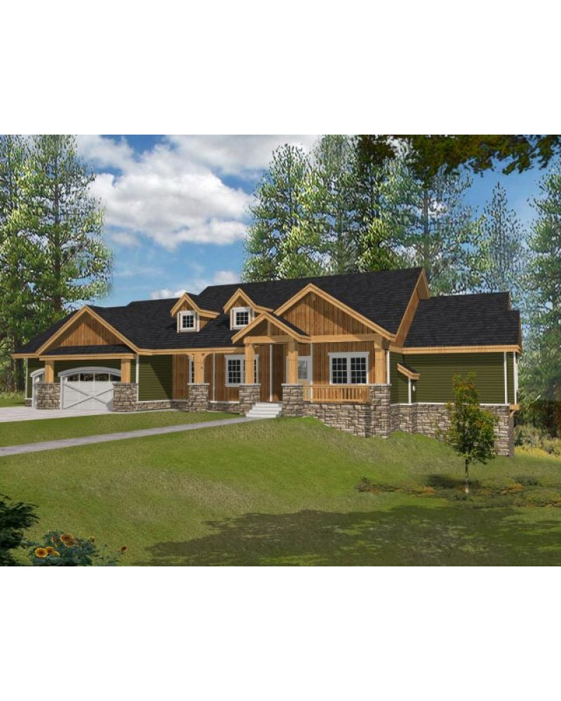 House plan rdi 2846r1 db ranch for Db ranch