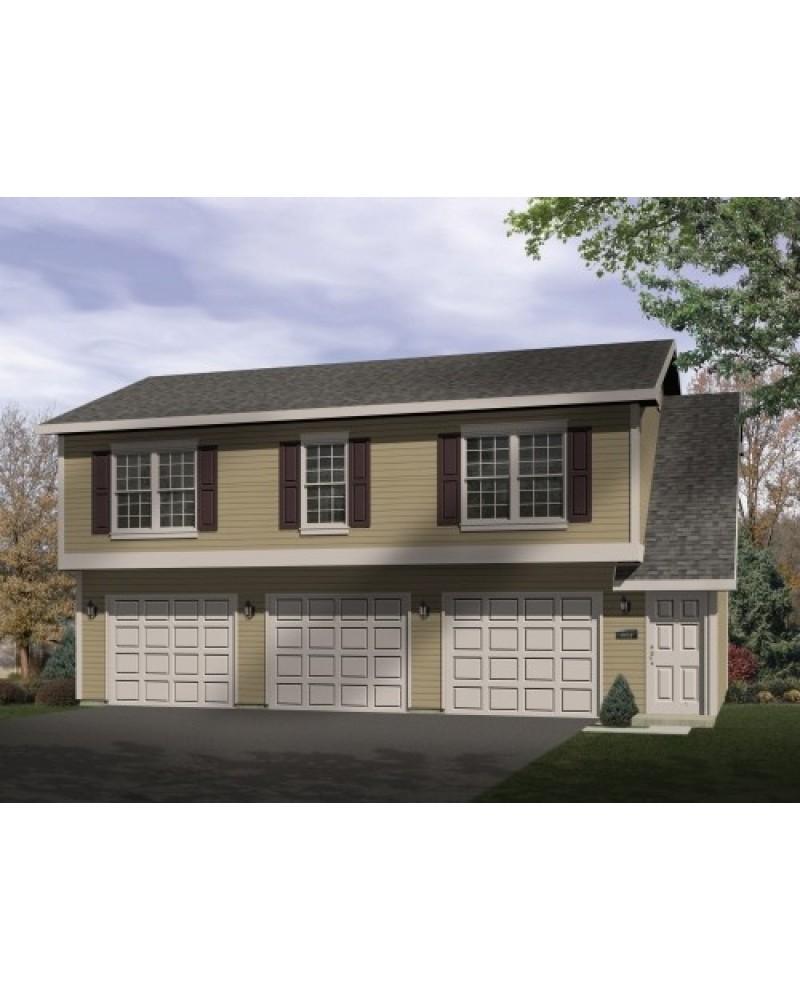 Garage plan rds9918 garage apartment for 5 car garage with apartment