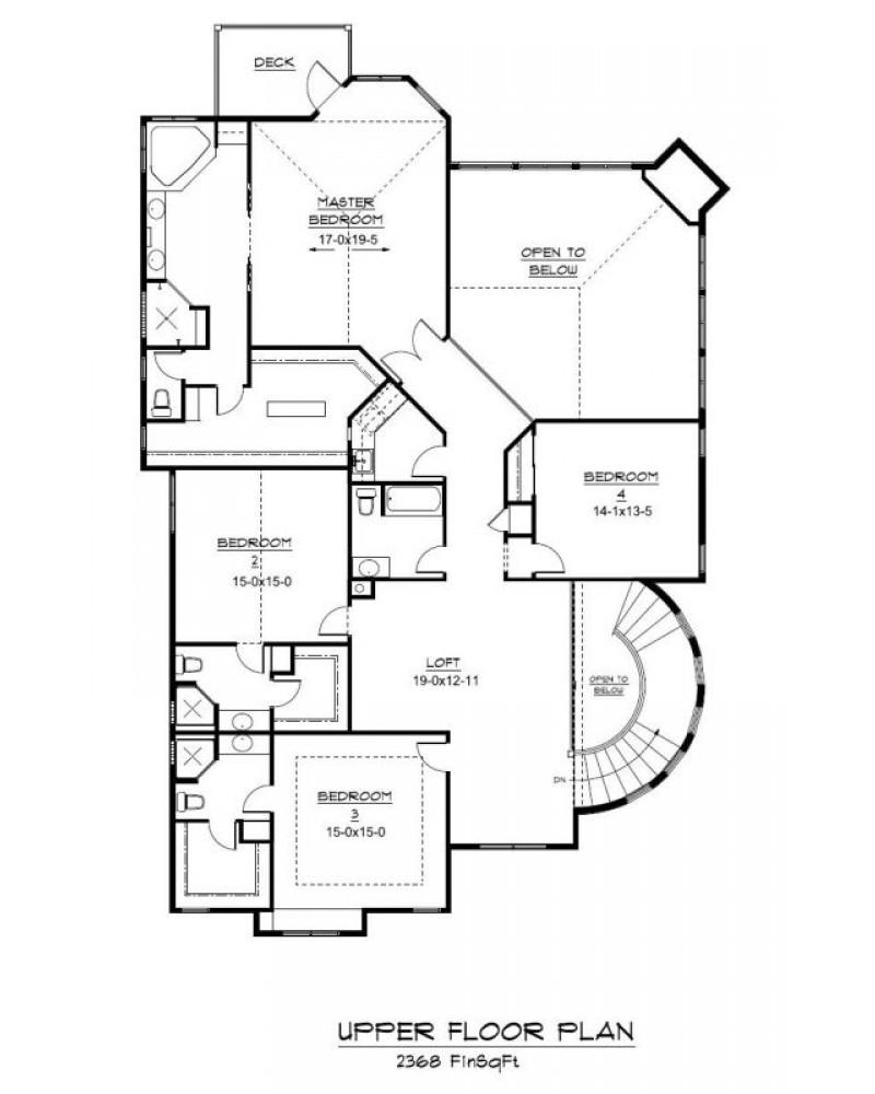 House Plan Ren 1400 Country Hillside