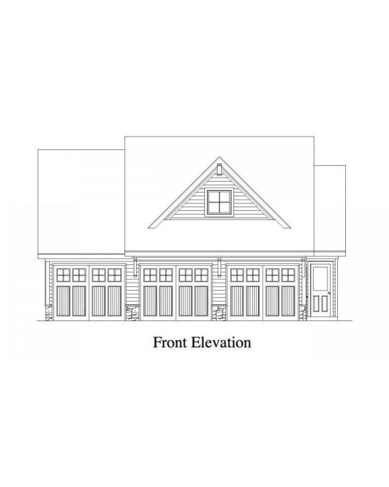 AmazingPlans.com Garage Plan #RLD-Briarcliff Garage Apartment