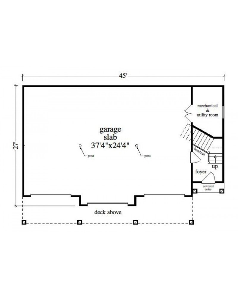 House plan rld carter garage colonial for Amazing plans com
