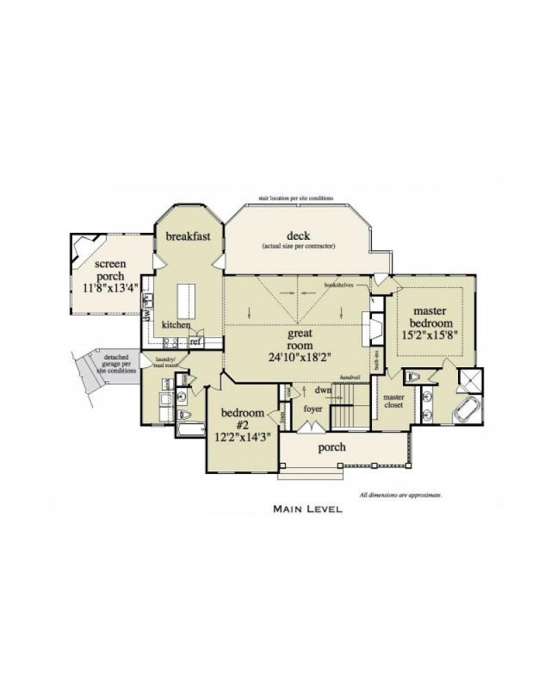 House plan rld hyde park cabin for Hyde homes floor plans