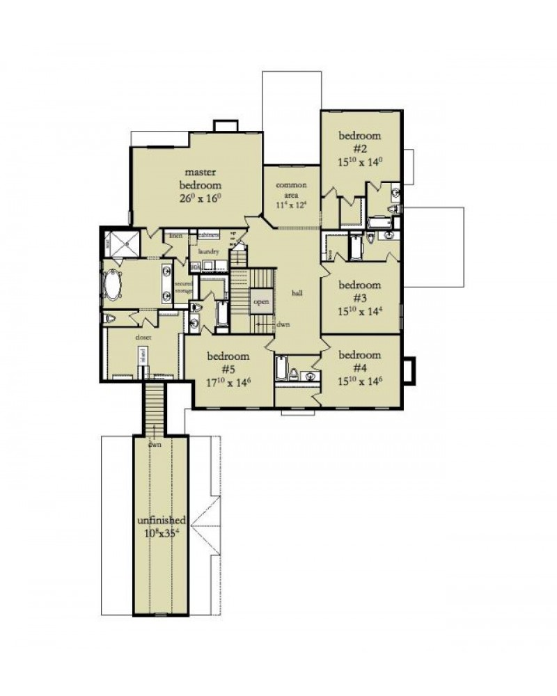 House Plan Rld Westover Colonial