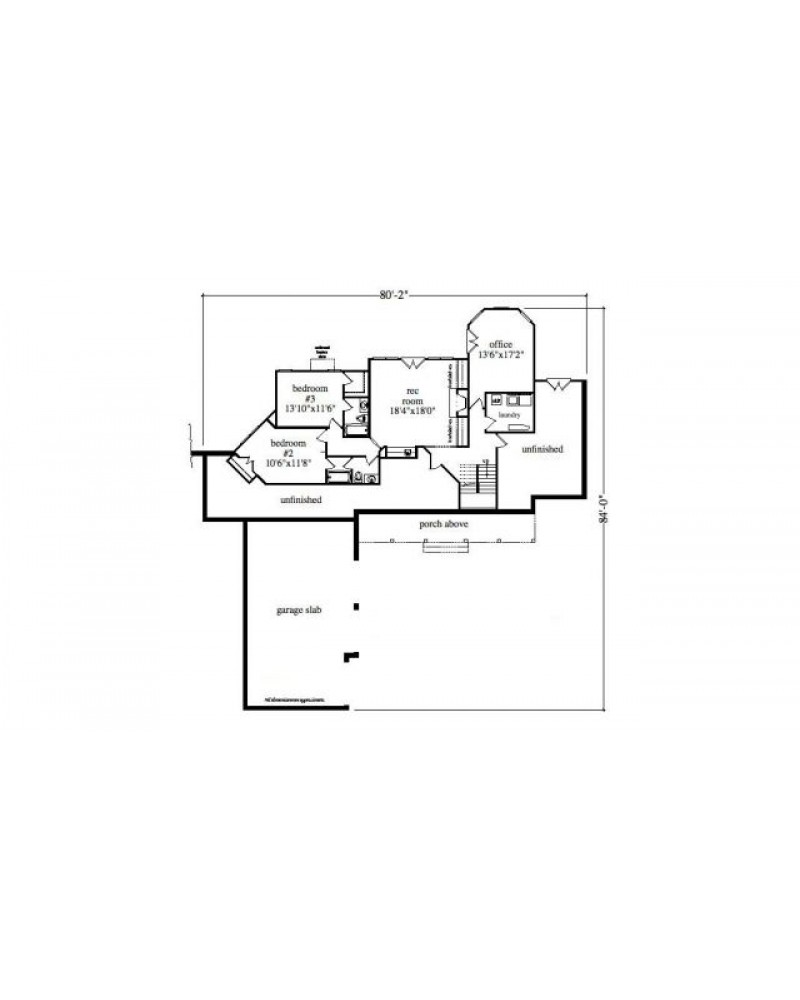 House plan rld whitewater retreat for Retreat house plans