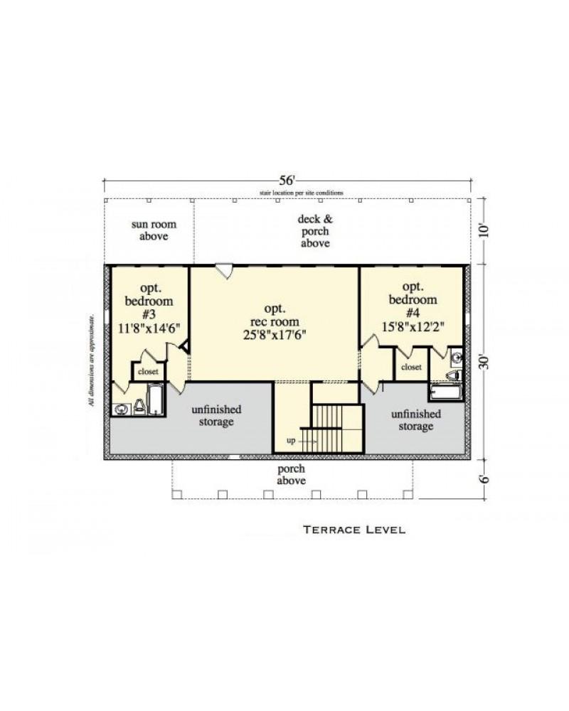 House Plan Rld Wrens Hideaway Cabin