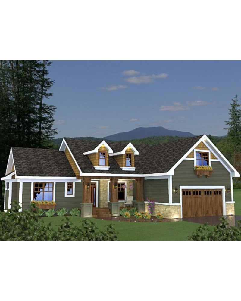 House Plan Ro 1715 Cape Cod New