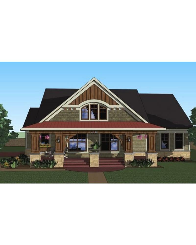 House Plan Ro 1814 Cape Cod New