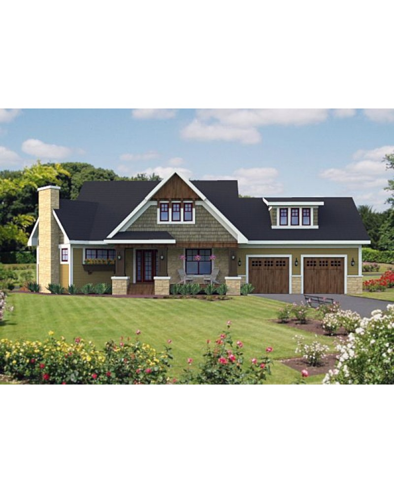 House Plan Ro 1815 Cape Cod New