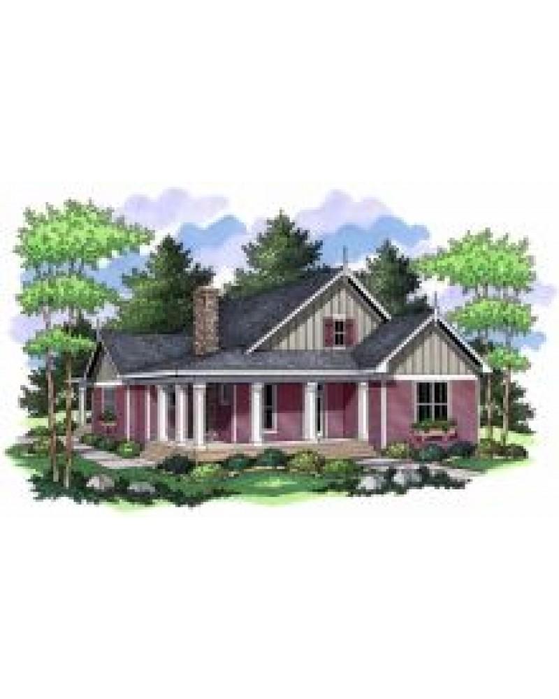 House Plan Ro 2238 Cape Cod New
