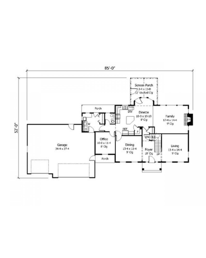 House Plan Ro 2404 Cape Cod New