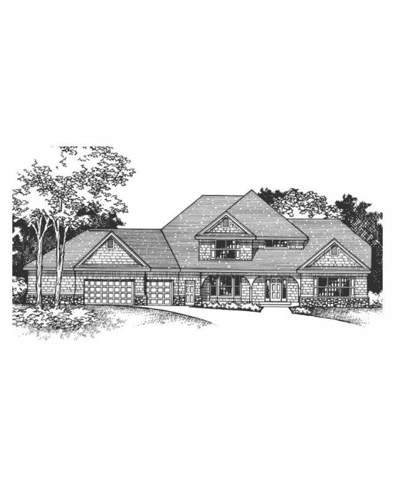House Plan Ro 3004 Cape Cod New