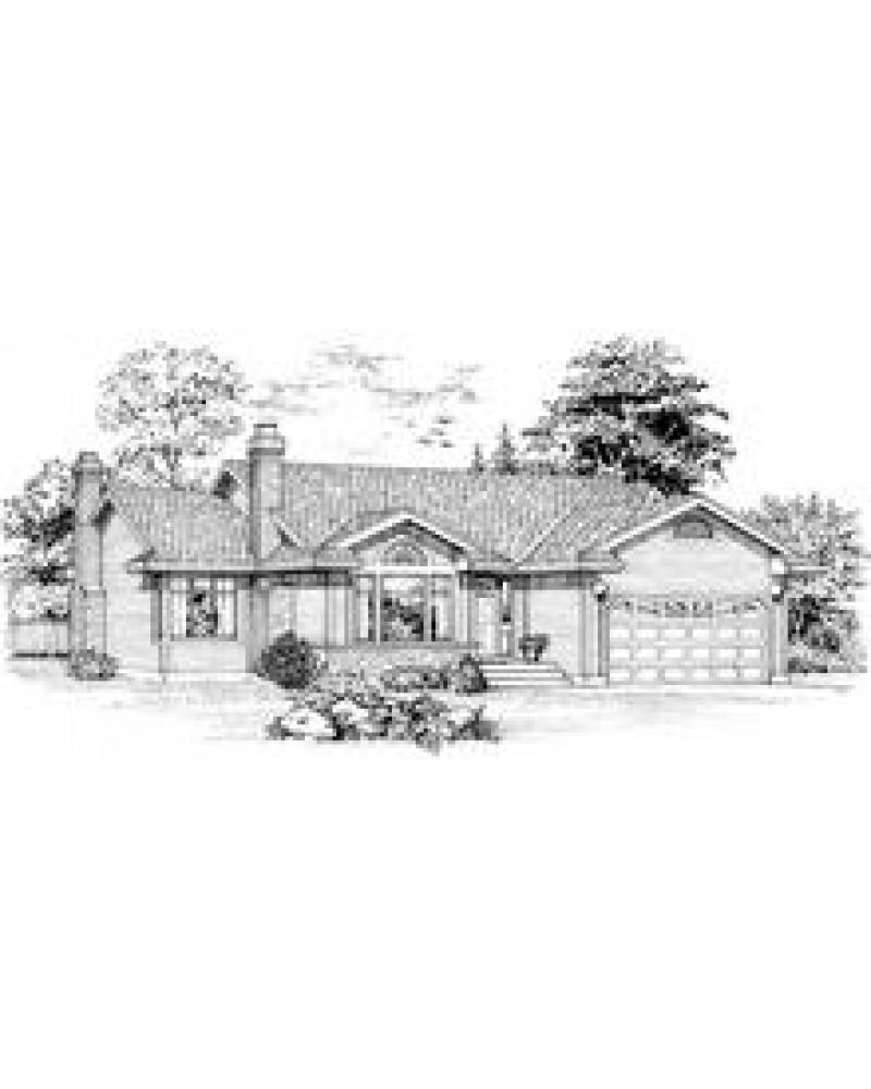 Country Ranchhouse Plans: AmazingPlans.com House Plan #SHD-MCA124