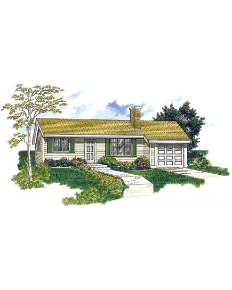 AmazingPlans.com House Plan #SHD-SEA030
