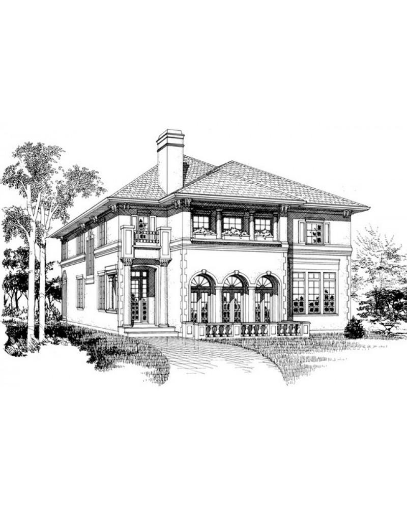 Contemporary Mediterranean Luxury Interior Designs: AmazingPlans.com House Plan #SHD-SEA446
