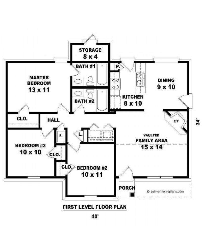 House plan sul 1068 58 a traditional for Amazing plans com