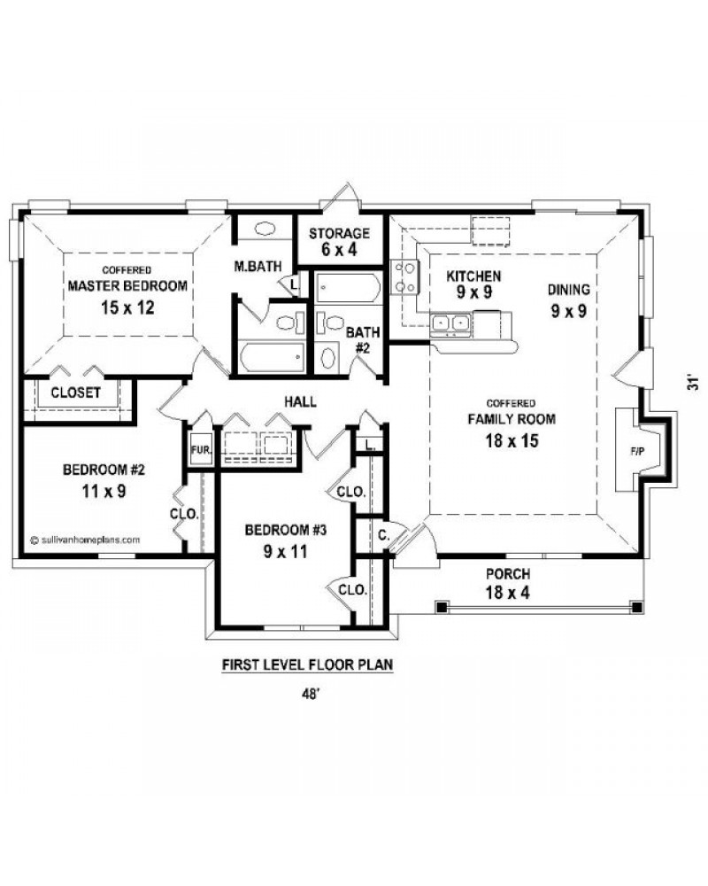 House Plan Sul 1251 41 C Country