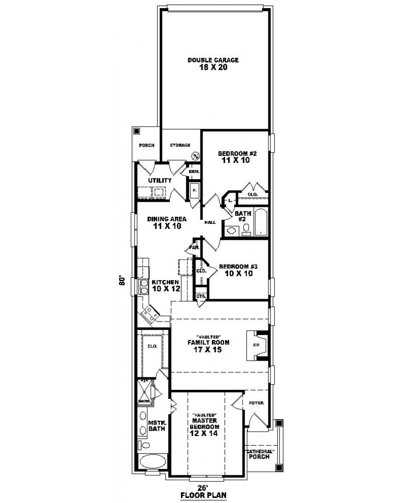 House Plan Sul 1333 526 Gp Cape Cod